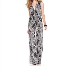 Style&Co animal patch jumpsuit size L&XL NWT
